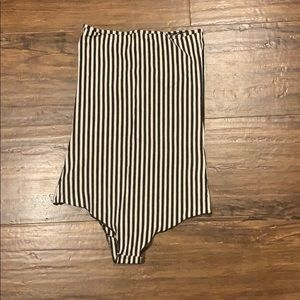 American Apparel Other - Striped bodysuit